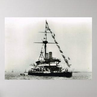 Navios históricos HMS Devestation Pôsteres