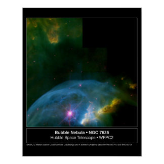 Nebulosa da bolha posteres