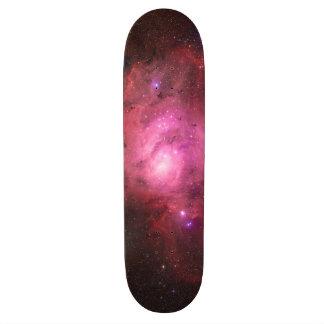 Nebulosa da lagoa - nosso universo excitante shape de skate 18,7cm