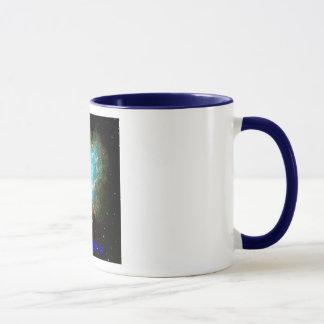 Nebulosa de caranguejo, nebulosa de caranguejo, caneca