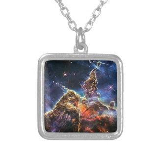Nebulosa de Carina Colar Banhado A Prata