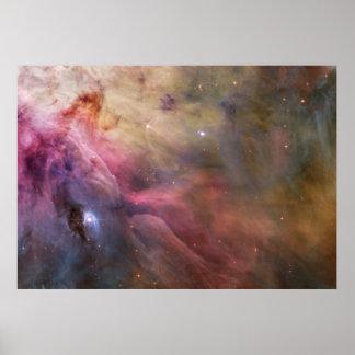 Nebulosa de Orion Poster