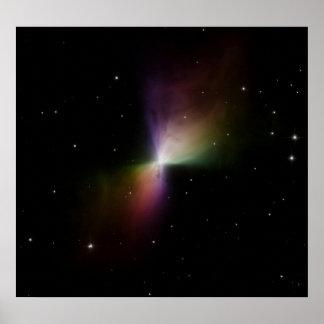 Nebulosa do Bumerangue Impressão