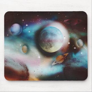 Nebulosa do espaço e mousepads das estrelas