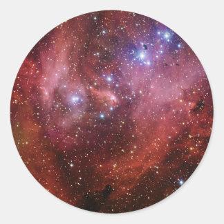 Nebulosa Running do CEN do Lambda da nebulosa da Adesivo