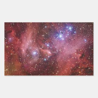 Nebulosa Running do CEN do Lambda da nebulosa da Adesivo Retangular
