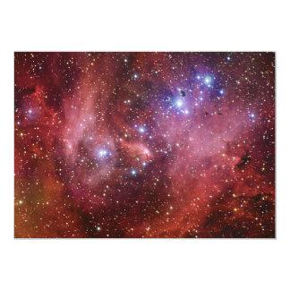 Nebulosa Running do CEN do Lambda da nebulosa da Convite 12.7 X 17.78cm