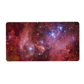 Nebulosa Running do CEN do Lambda da nebulosa da Etiqueta De Frete