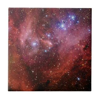 Nebulosa Running do CEN do Lambda da nebulosa da g Azulejo Quadrado Pequeno