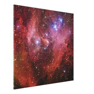 Nebulosa Running do CEN do Lambda da nebulosa da g Impressão Em Tela Canvas