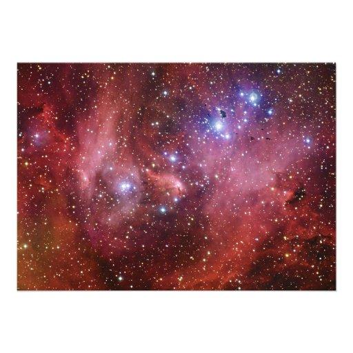 Nebulosa Running do CEN do Lambda da nebulosa da g Convite Personalizados