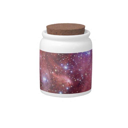 Nebulosa Running do CEN do Lambda da nebulosa da g Potes De Doces