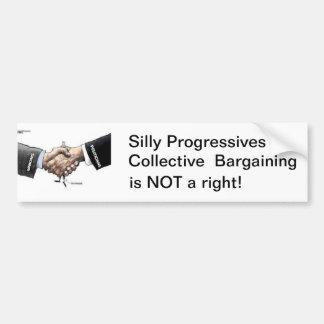 Negociação colectiva adesivo para carro