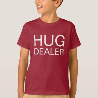 Negociante do abraço tshirts