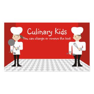 negócio bonito Ca das aulas de culinária dos Cartoes De Visita