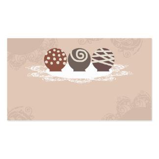 negócio Ca do cozimento do fazer dos doces de Cartão De Visita