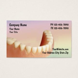 Negócio Cards_2 do dentista Cartão De Visita
