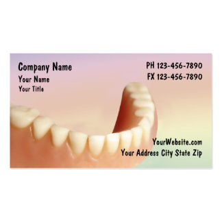 Negócio Cards_2 do dentista Cartões De Visita