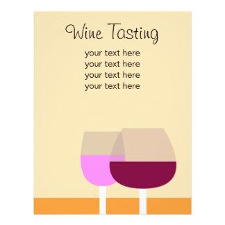 Negócio da degustação de vinhos/vinho panfletos personalizado