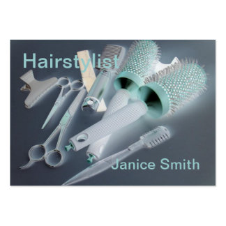 Negócio do cabeleireiro cartões de visitas