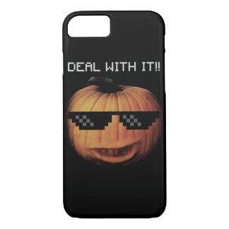 Negócio do Dia das Bruxas com ele Capa iPhone 7