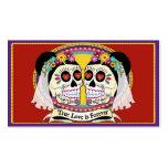 Negócio do Dos Novias (2 noivas)/cartão conhecido Cartao De Visita