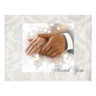 negócio elegante do planejador do casamento tema d cartão postal
