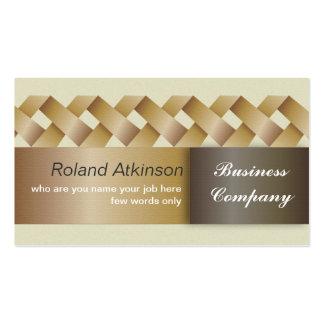 Negócio lustroso abstrato elegante moderno cartão de visita