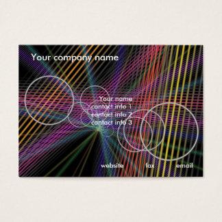 Negócio moderno cartão de visitas
