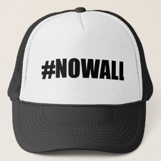 Nenhum boné do camionista da parede