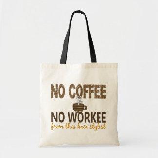 Nenhum café nenhum cabeleireiro de Workee Bolsa Para Compra