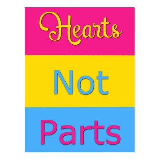 Nenhum cartão Pansexual do ódio LGBTQA dos trunfos