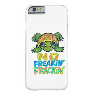 Nenhum caso do iPhone 6 da tartaruga de Fracking Capa iPhone 6 Barely There