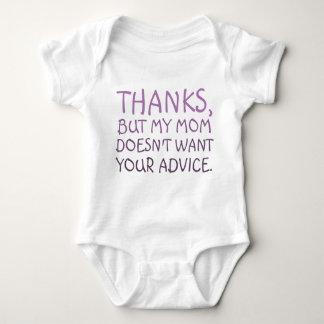 Nenhum conselho t-shirt