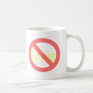 Nenhum grito caneca de café
