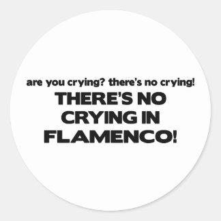Nenhum grito - Flamenco Adesivo