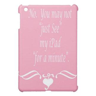 Nenhum ipad capa para iPad mini