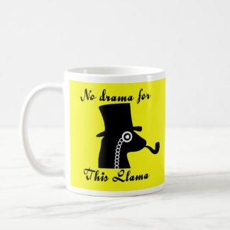 Nenhum lama do drama caneca de café