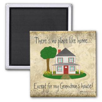 Nenhum lugar gosta em casa exceto o mag da casa da imãs