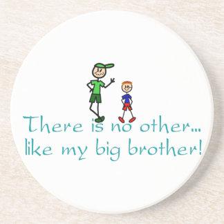 Nenhum outro big brother porta copos de arenito