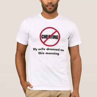Nenhum t-shirt de engano