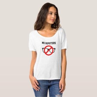 Nenhum t-shirt dos hipsteres