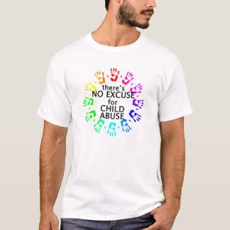 Nenhuma desculpa para o pederastia t-shirts