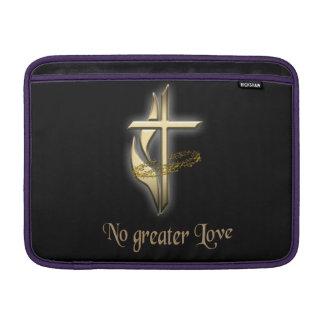 Nenhuma maior cruz do amor bolsas de MacBook air