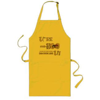 Nenhuma outra mulher pode cozinhar como o avental