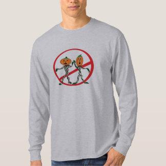 Nenhumas abóboras Altas-Fiving Tshirts