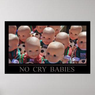 Nenhuns bebês do grito pôster