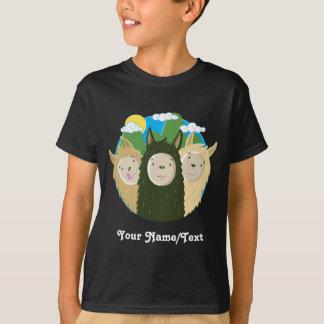 Nenhuns irmãos dos lamas do drama camiseta
