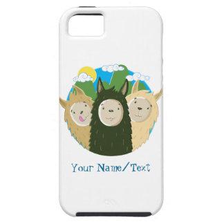 Nenhuns irmãos dos lamas do drama capa tough para iPhone 5