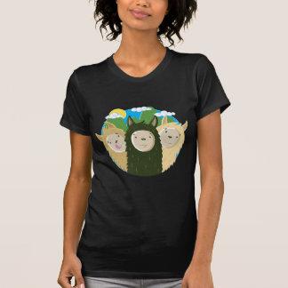 Nenhuns irmãos dos lamas do drama t-shirts